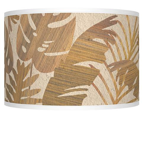 Tropical Woodwork Giclee Shade 12x12x8.5 (Spider)