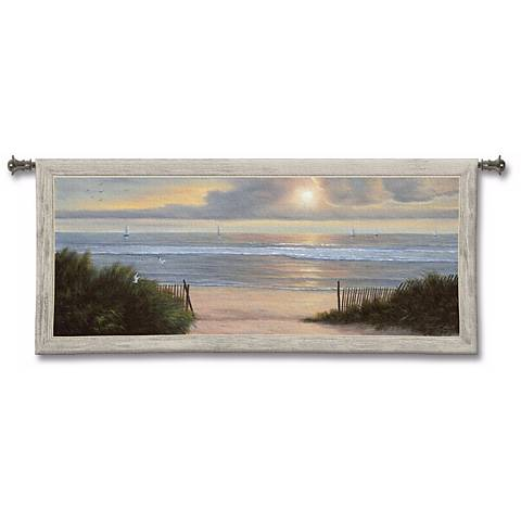 "Summer Moments 54"" Wide Wall Tapestry"