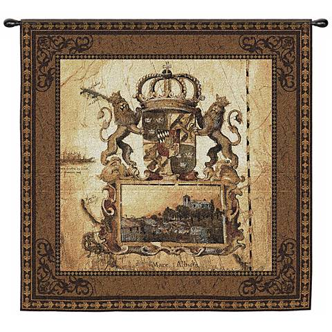 "Terra Nova I Hanging 53"" Square Wall Tapestry"