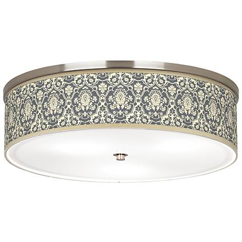 "Seedling by thomaspaul Damask 20 1/4"" Wide Ceiling Light"