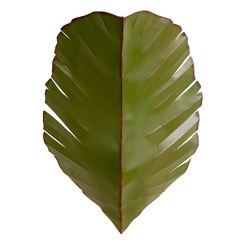 "Varaluz Banana Leaf Collection 17"" High Tropical Wall Sconce"