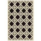 Trellis Brown Indoor Outdoor Rug