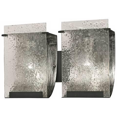 "Varaluz Rain Collection 14 1/2"" Wide Bath Light"
