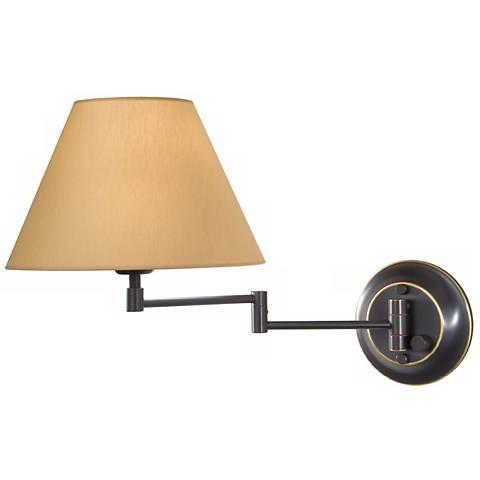 Holtkoetter Oil Rubbed Bronze Br Kupfer Swing Arm Lamp