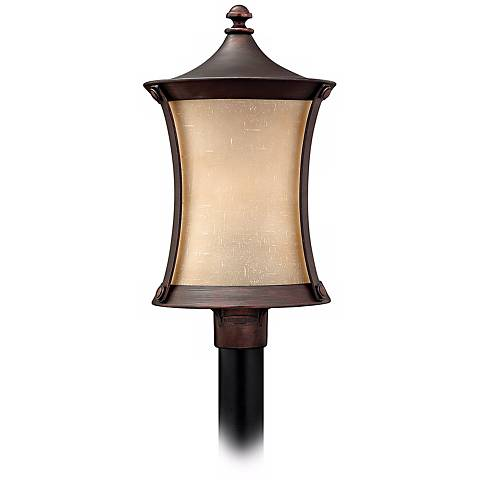 "Thistledown Collection 22 1/2"" High Outdoor Post Light"