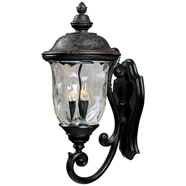 """Carriage House Collection 26 1/2"""" High Outdoor Wall Light"""