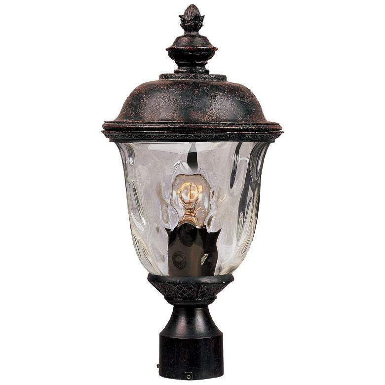 """Carriage House Collection 19 1/2"""" High Outdoor Post Light"""