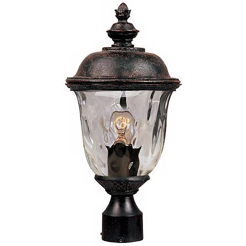 "Carriage House Collection 19 1/2"" High Outdoor Post Light"