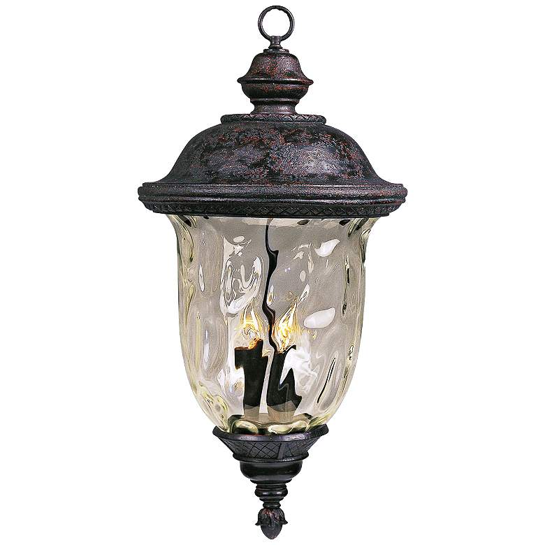 "Carriage House Collection 24 1/2"" High Outdoor Hanging Light"