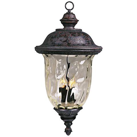"""Carriage House Collection 24 1/2"""" High Outdoor Hanging Light"""