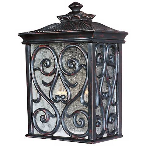 newbury collection 15 high outdoor wall light k0848 lamps plus