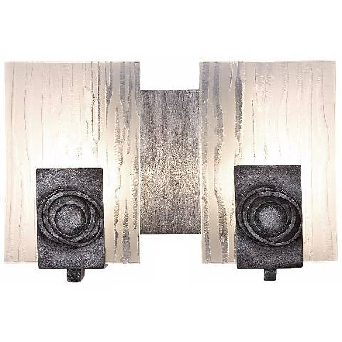 "Varaluz Polar Collection 10"" Wide ADA Compliant Bath Light"