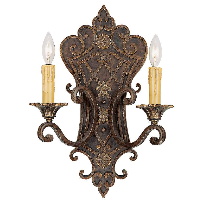 """Savoy House Sotherby 19"""" High Wall Sconce"""