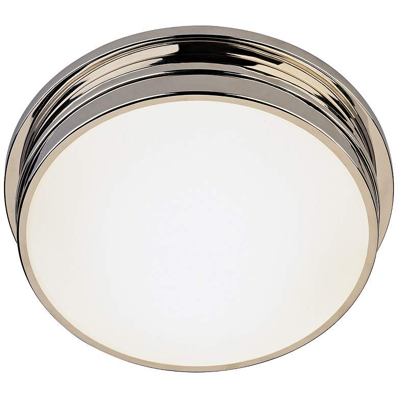 """Roderick Collection Nickel 13 1/2"""" Wide Ceiling Light"""