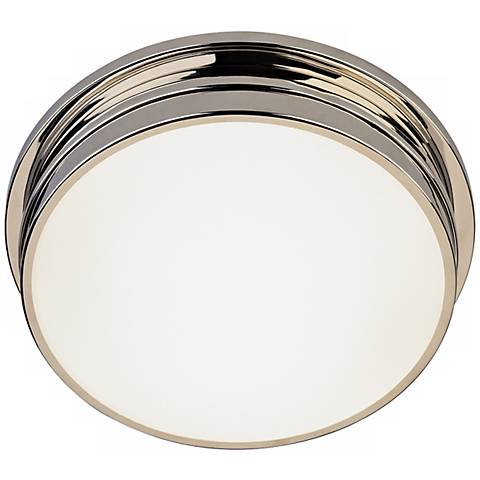 "Roderick Collection Nickel 13 1/2"" Wide Ceiling Light"