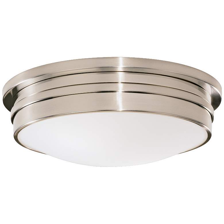 """Roderick Collection Silver 17"""" Wide Flushmount Ceiling Light"""