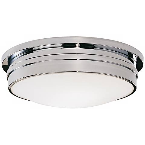 "Roderick Collection Chrome 17"" Wide Flushmount Ceiling Light"