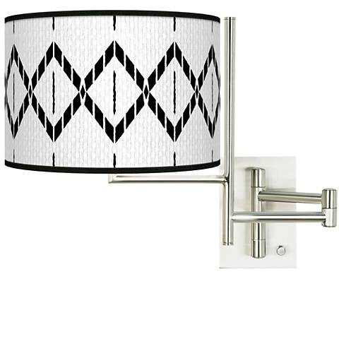 Tempo Paved Desert Plug-in Swing Arm Wall Lamp