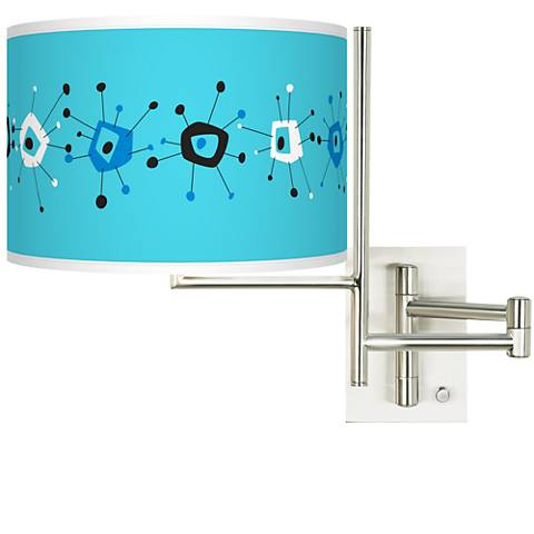 Tempo Sputnickle Plug-in Swing Arm Wall Lamp