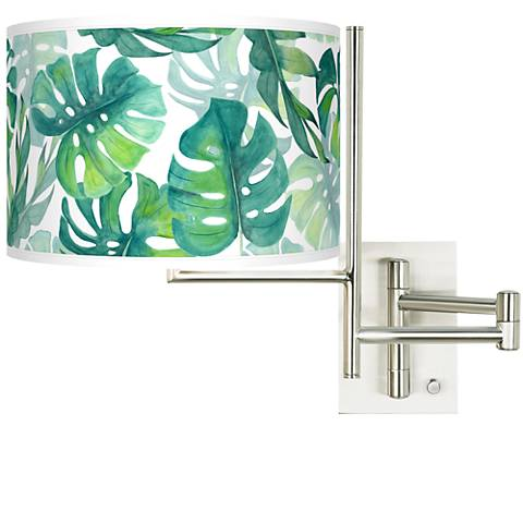 Tempo Tropica Plug-in Swing Arm Wall Lamp