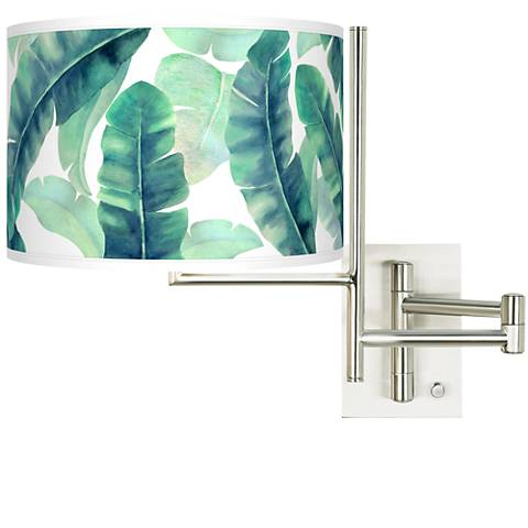 Tempo Guinea Plug-in Swing Arm Wall Light