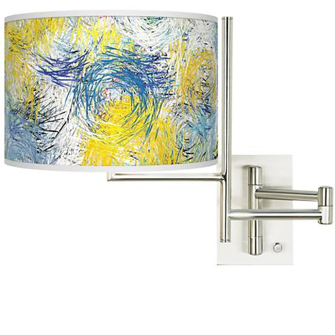 Tempo Starry Dawn Plug-in Swing Arm Wall Lamp