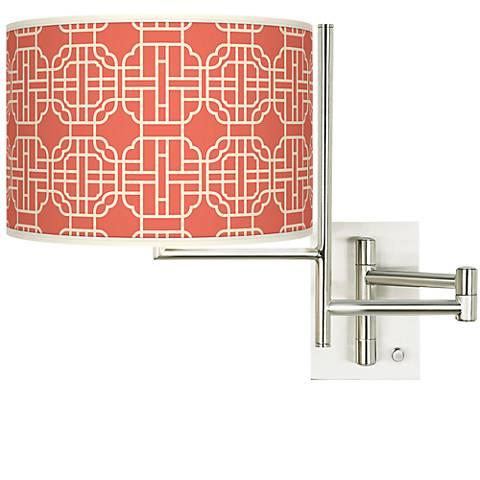 Tempo Mandarin Plug-in Swing Arm Wall Light