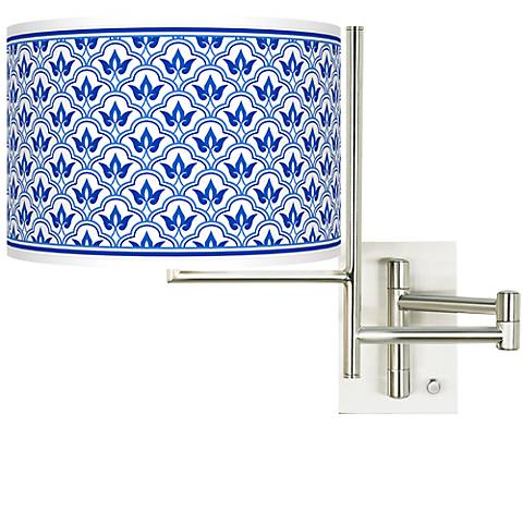 Tempo Arabella Plug-in Swing Arm Wall Light
