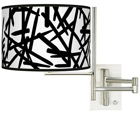 Tempo Sketchy Plug-in Swing Arm Wall Light