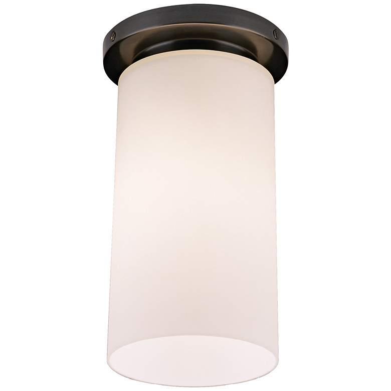 "Robert Abbey Nina Bronze 6""W Flushmount Ceiling Light"
