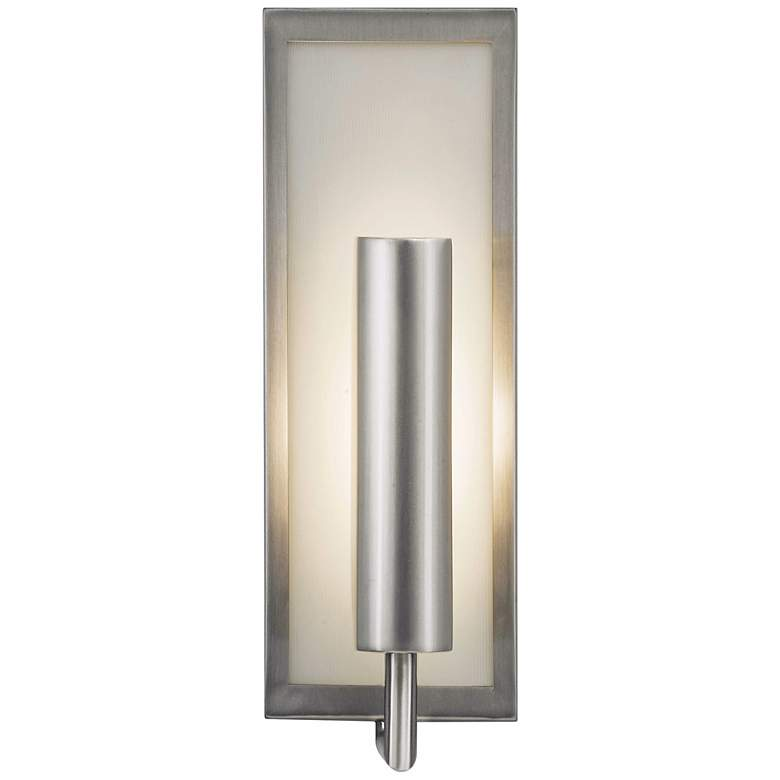 "Feiss Mila Collection Steel 14 3/4"" High Wall Sconce"
