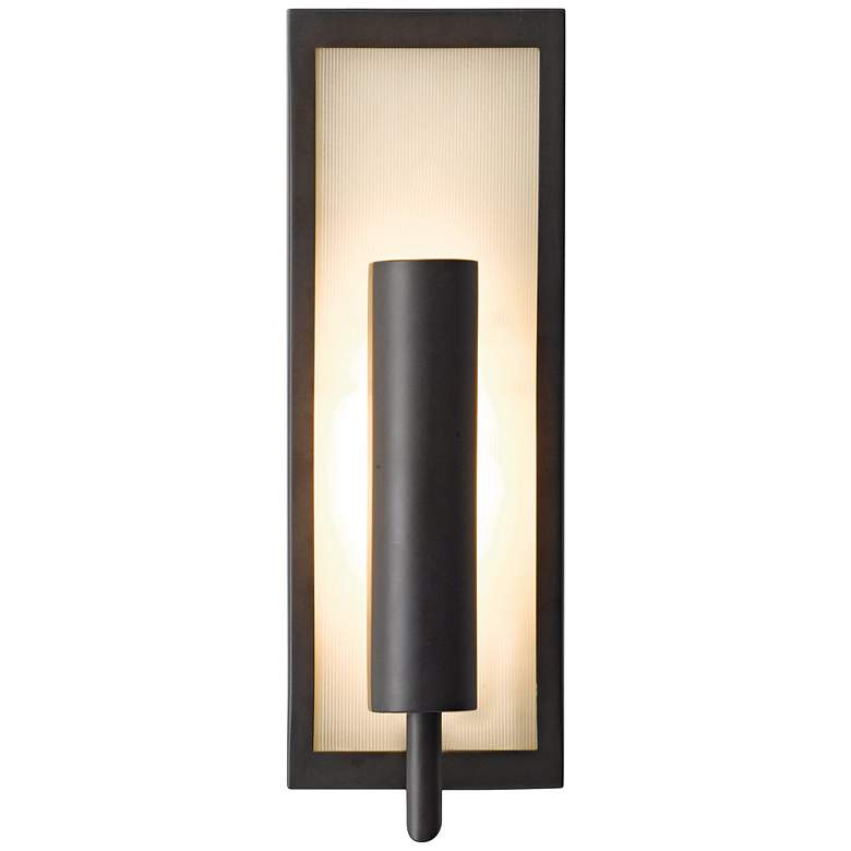 """Feiss Mila Collection Bronze 14 3/4"""" High Wall Sconce"""