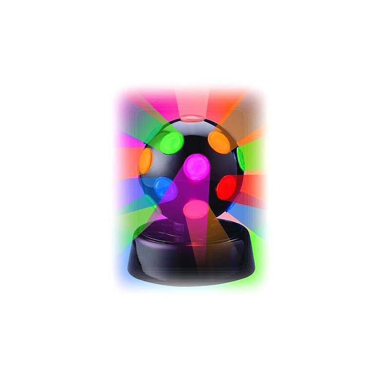 "Rotating Multicolor 4"" Disco Ball Lamp"