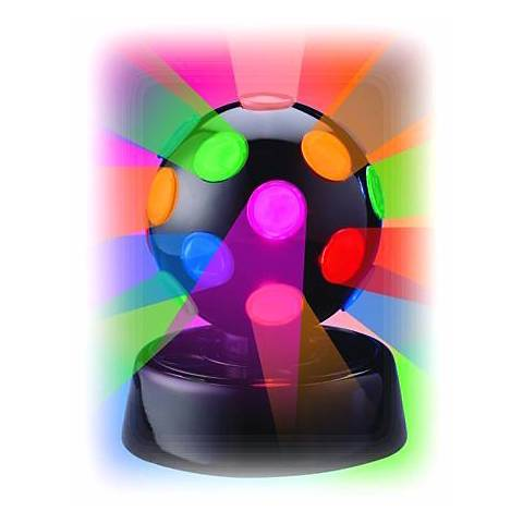 "Rotating Multicolor 4"" Disco Ball"