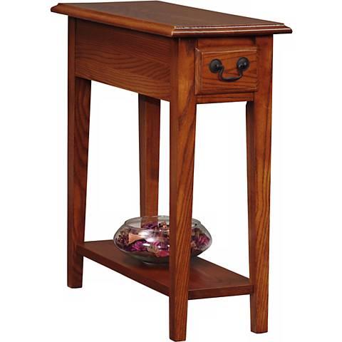 Favorite Finds Medium Oak Finish Side Table