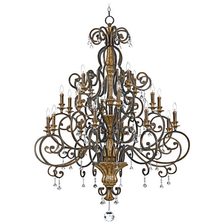 """Marquette Collection 48 1/2"""" Wide 20-Light Chandelier"""