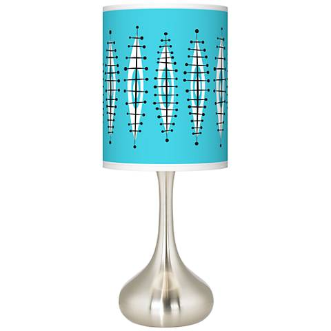 Vibraphonic Bounce Giclee Droplet Table Lamp