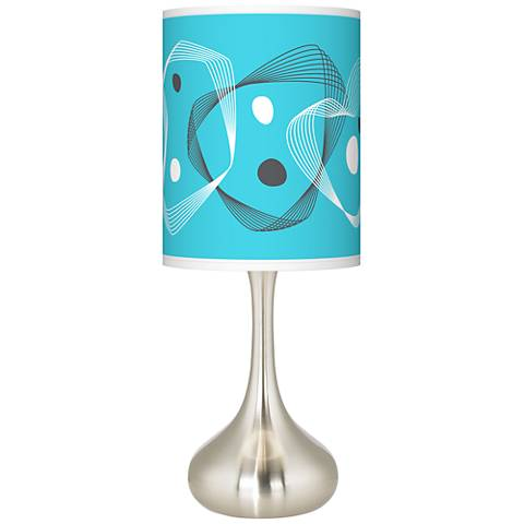Spirocraft Giclee Droplet Table Lamp