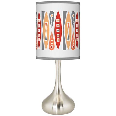 Vernaculis VI Giclee Droplet Table Lamp