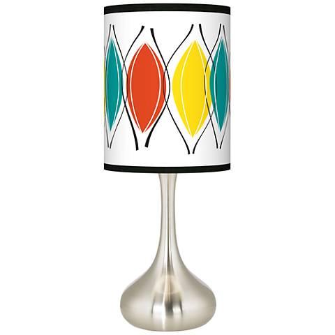 Harmonium Giclee Droplet Table Lamp
