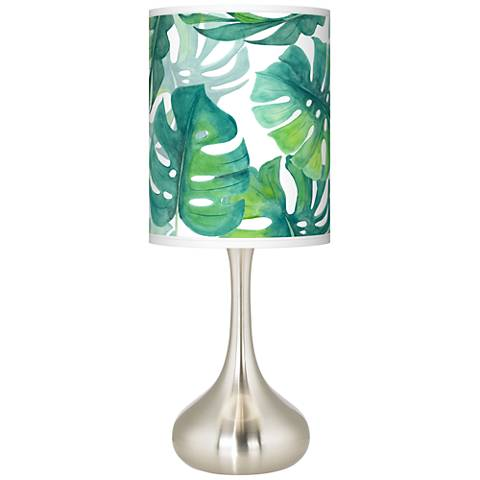 Tropica Giclee Droplet Table Lamp