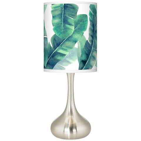 Guinea Giclee Droplet Table Lamp