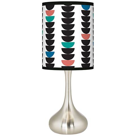 Semi-Dots Giclee Droplet Table Lamp