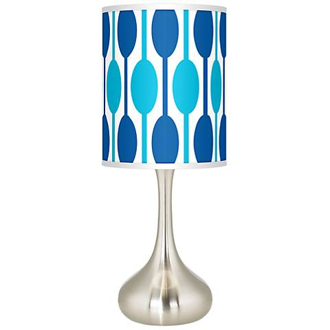 Jet Set Giclee Droplet Table Lamp