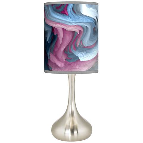 Europa Giclee Droplet Table Lamp