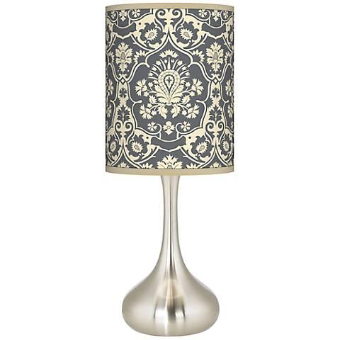 Seedling by thomaspaul Damask Droplet Table Lamp
