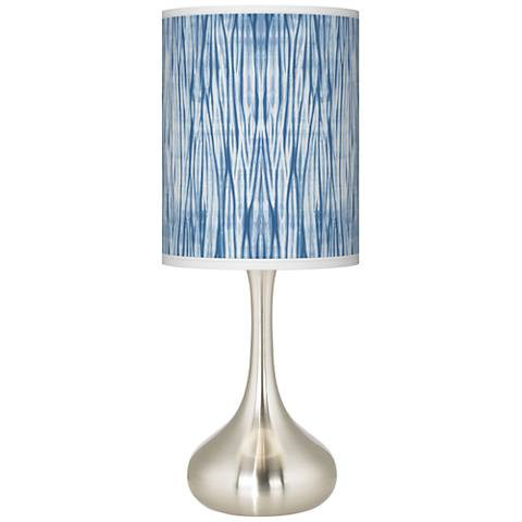 Beachcomb Giclee Droplet Table Lamp