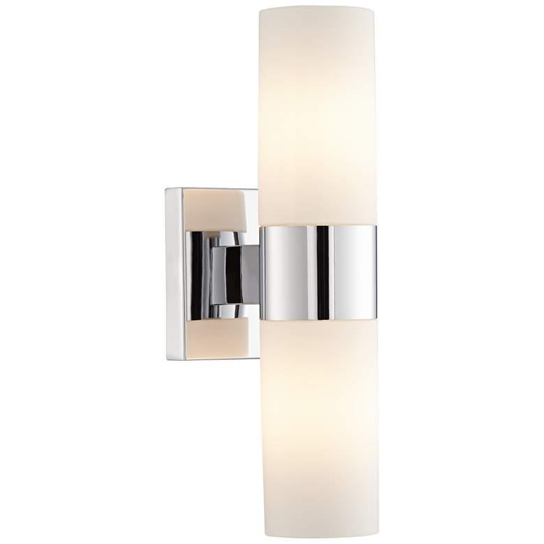 """Minka Lavery Opal Glass 13 1/2"""" High Wall Sconce"""