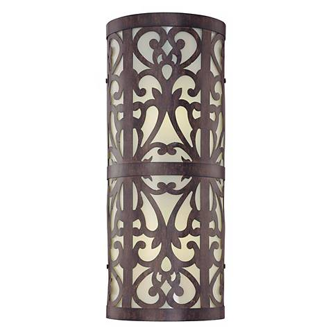 """Nanti Collection Energy Efficient 18 1/2"""" High Wall Light"""