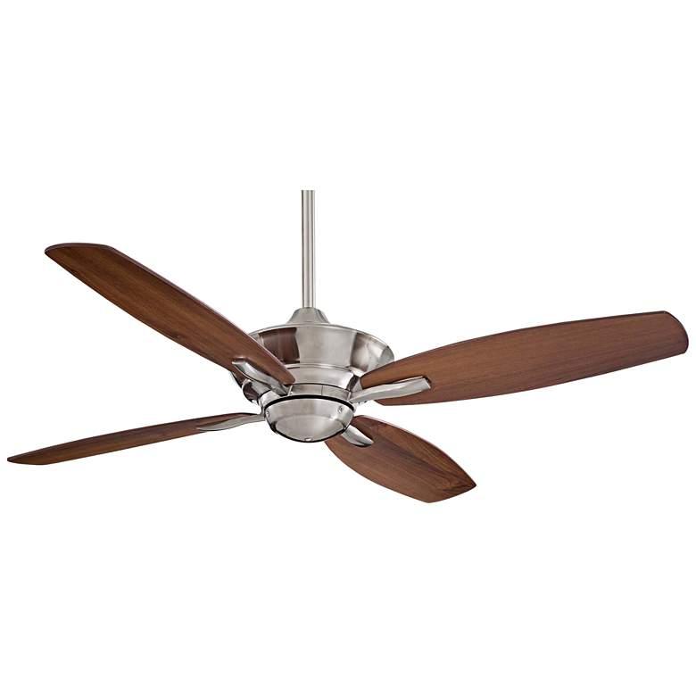"52"" Minka Aire New Era Brshd Nickel Ceiling Fan"